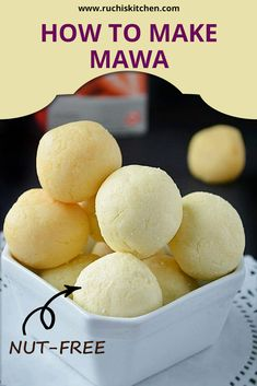 Khoya or mawa is a thickened milk solid that is widely used in Indian cooking. It is base for many good Indian recipes like burfis and Gulab Jamuns. #mawa #lhoys #howtomakemawa #khovarecipe #kharrarecipe #homemademawa Best Indian Recipes, Indian Dessert Recipes, Indian Sweets, Indian Snacks, Sweets Recipes, Fun Desserts, Filipino Recipes, Amazing Recipes, Easy Recipes