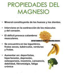 Magnesio para deportistas. A leer
