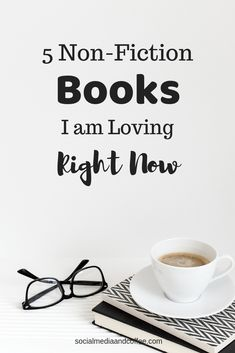 If you are anything like me, you are always looking for a great book recommendation! I tend to read fiction and non-fiction about equally, but today I am going to give you my current Top 5 Non-Fiction Books I am Loving Right Now. Book Suggestions, Book Recommendations, Social Media Quotes, What Book, Facebook Marketing, Business Entrepreneur, Instagram Tips, Nonfiction Books, Pinterest Marketing