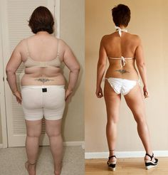 Inspirational - Before/After photo losing 100 lbs