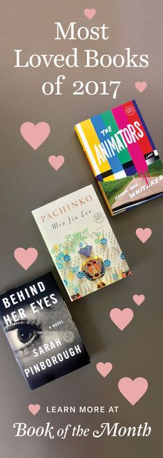 The most loved books of 2017, as voted by our members.