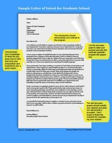 Sample letter of intent for graduate school pinterest school a sample letter of intent spiritdancerdesigns Images