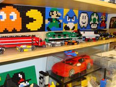 Yooouuuuuuuh du pixel art en Lego !!!!!  <3