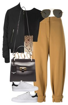 """Untitled #3673"" by lily-tubman ❤ liked on Polyvore featuring STELLA McCARTNEY, Alice + Olivia, Topshop, ASOS, Balenciaga, adidas and Yves Saint Laurent"