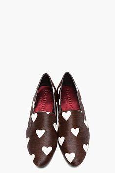 Burberry Prorsum calf-hair loafers