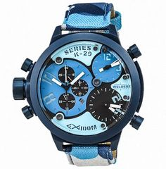 71% Off the Welder K29 Triple Time Zone Chronograph Men's Watch from U-Boat – UrbanDaddy Perks