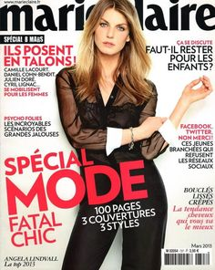 Marie Claire France March 2013 - Angela Lindvall