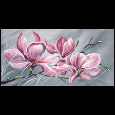 Schilderijen Schilderij Magnolia Kunst