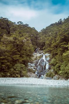 Fantail Falls is located in Mt Aspiring National Park. National Parks, Christian, River, Fall, Pictures, Outdoor, Autumn, Photos, Outdoors
