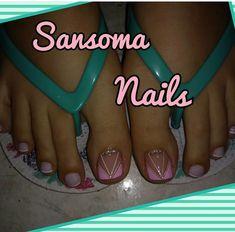 Cute Pedicure Designs, Diy Pedicure, Toe Nail Designs, Beautiful Toes, Beautiful Nail Designs, Toe Nail Art, Toe Nails, Cute Pedicures, Luxury Girl
