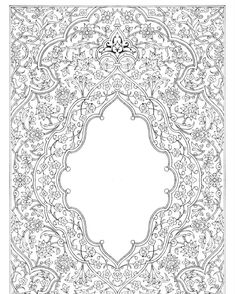 طراحی برای کتاب تذهیب .لچک ترنج بانقوش اسلیمی وختایی #dariushjalilian #drawing #draw #illumination #iranian…