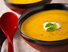 Butternut Squash Quinoa Soup Recipe w coconut water