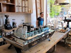 LOT SIXTY ONE COFFEE ROASTERS, AMSTERDAM HOLLAND