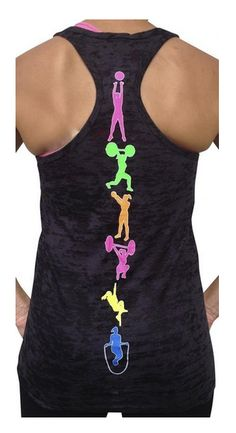 4. Cute Fitness Moves Tank. Get it HERE!