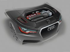 Professional work for Audi Design by Frederic Schwab at Coroflot.com