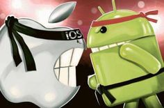 ios fight android