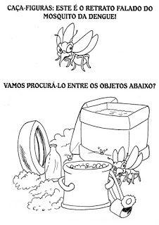 Ensinando com Carinho: Atividades sobre a dengue Mosquitos Da Dengue, Dengue Fever, Mosquito Aedes, Mayo, Home Design, Education, Visual Perceptual Activities, Sight Word Activities, Third Grade Books
