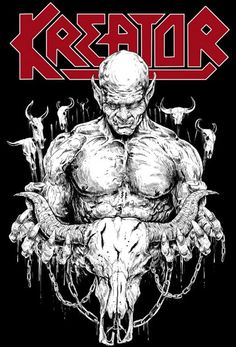 For Kreator Official - Wacken Open Air design  by Raf The Might