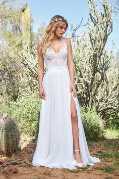506ea15c43 Lillian West 6515 Ivory Ivory Nude Size 8 and Size 20 Chiffon A-