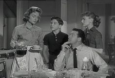 """The Donna Reed Show, """"When dealing with yourself use your head. When dealing with others, use your heart."""""""