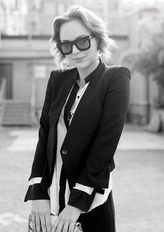 #vintage #fashion #blachandwhite #classy