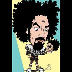 CapaRezza. ©Davyhead #davyhead #drawing #comics #caricatura #caricature #caricaturas #caricatures #caparezza #capasound