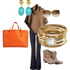 Classy cowgirl - my first go round with polyvore