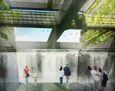 snøhetta, mayer/reed + dialog chosen for oregon's willamette falls riverwalk