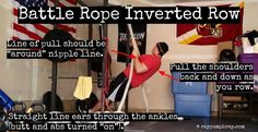 The Battle Rope exercise that blows up your back and arms!