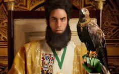"""""""El Dictador"""" - No llega a las sangrantes alturas paródicas de la otra obra de Cohen, 'Borat', pero ofrece un mayor promedio de aciertos que su última gracieta fallida, 'Bruno"""".(Ann Hornaday: The Washington Post)."""