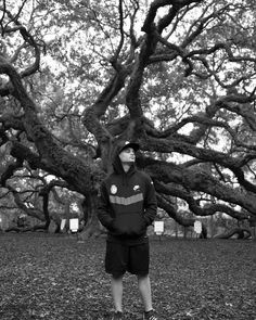 Another shot of Frankie at The #AngelOakTree .  Photo by @boo_jenkins aka #DJBoo  #SouthCarolina #DanceLife #Dancers  #Nature #GoodTimes with #GoodPeople  Check out our next appearances:  Saturday December 19th #Newark  #NewJersey  New Jersey Performing Arts Center #NJPAC 1 Center St. Newark New Jersey 07102  http://ift.tt/1Ql3nha  Monday December 21 #Schenectady  #NewYork #Proctors 432 State St. Schenectady NY 12305  http://ift.tt/1MeFFva  #Dance #HipHop #BBoys #BGirls #Decadancetheatre…