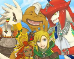 The new champions of hyrule!