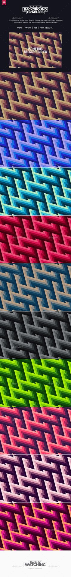 Isometric Background V.8 - Abstract #Backgrounds Download here: https://graphicriver.net/item/isometric-background-v8/20392624?ref=alena994