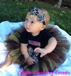 Camouflage Baby .. Toddler ... Girl.... Tutu by PinkLaundryEvts, $30.00