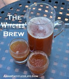 The Witches' Brew By Ann The Witches' Brew: frightfully delicious, eerily sweet and tasty, The Witches' Brew recipe will be a mysterious addition to your Halloween Party! Prep Time: 5 minutes Ingredients: • 1 cup Cranberry Juice • 1 cup Pineapple Juice • 1 cup Sprite Zero • 3/4 cup Coconut Rum...