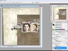 Designer Digitals - glue paper to text
