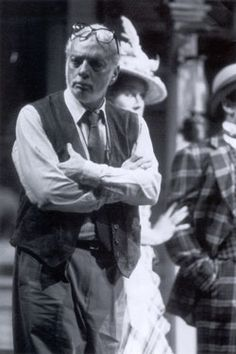 Harold Prince, director, producer, 21 Tony Awards (more than any other individual), musical theatre master