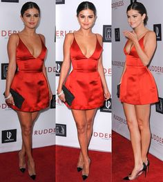 Selena Gomez at the 'Rudderless' Los Angeles premiere at the Vista Theatre in California on October 7, 2014