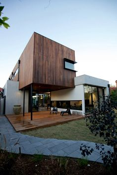 New House At Milton St Elwood Victoria by Jost Architects