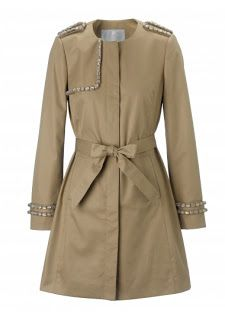 Colette Coat Embellished Mac
