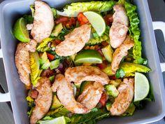 Marinert kylling og tex mex salat | Fitfocuse | Bloglovin'