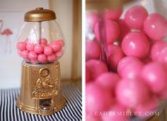 Just posted this Gold Gumball Machine DIY Tutorial on the blog from my Kate Spade Inspired Home office reveal.