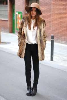 Women Fur Jacket fashion - Trendy Key