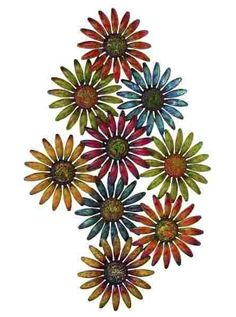 Metal Wall Art Flowers metal wall art :: flowers, leaves & trees :: garden wall art