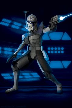Clone Captain Rex 501st Legion he looked cooler in season 1 and 2