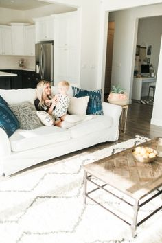 We recently professed our love for Southwest inspired interiors and i think the universe heard our declarations because this California home landed in our laps and it is ripe with those south by west touches we love so much. Decor, Modern Bohemian, Home, Living Dining Room, California Homes, Family Room, House Tours, Room, Bohemian Decor