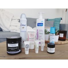 Blog-The New Blacck-Produits terminés-Sanex-Dove-Christophe Robin-Bioderma