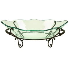 Large Glass Decorative Bowls Casa Cortes Hotel Standard Large Glass Bowl Center Piece And Metal