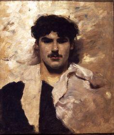 John Singer Sargent, Head of a Gondolier, 1880-82, Marquess of Cholmondeley