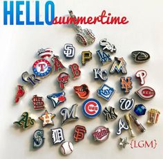 MLB charms are now available through Origami Owl